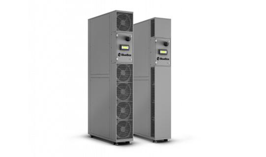 Racksorba építendő klímaberendezések olyan adatközpontokban, ahol a hideg- és melegfolyosók külön vannak választva