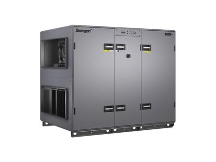 Swegon GOLD RX kompakt légkezelő szabadalmaztatott forgódobos hőcserélővel